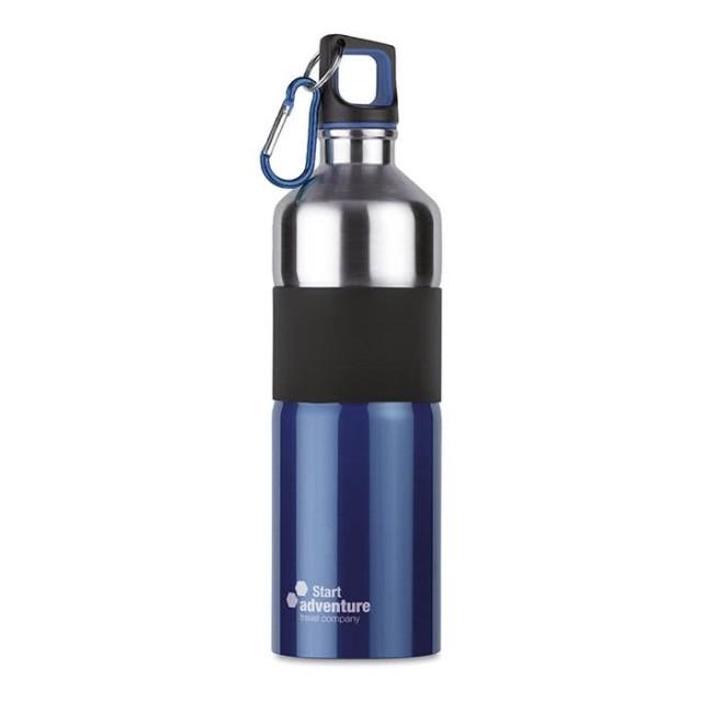 Botellas de acero con logo