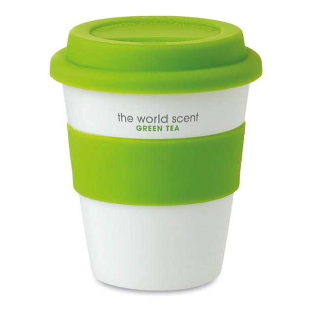 Tazas de plástico personalizadas con tu logo (350ml)