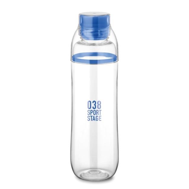 Botellas tritán personalizadas azul