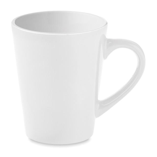 Tazas pequeñas con logo color blanco