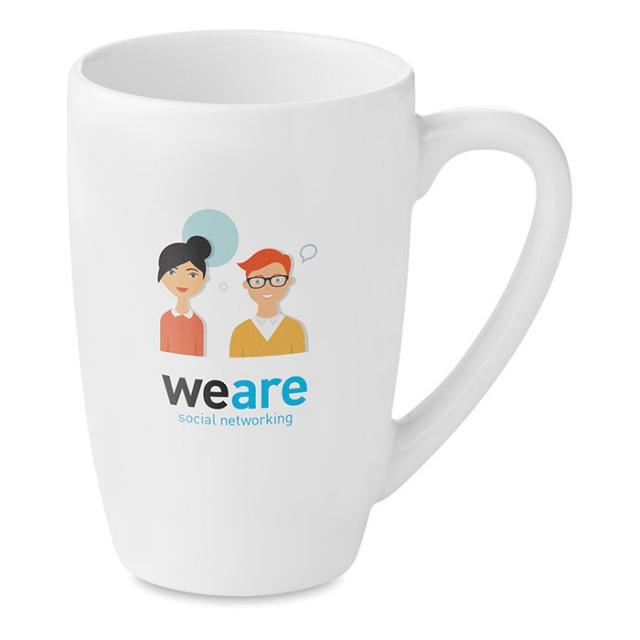 Tazas de te personalizadas con logotipo (300ml)