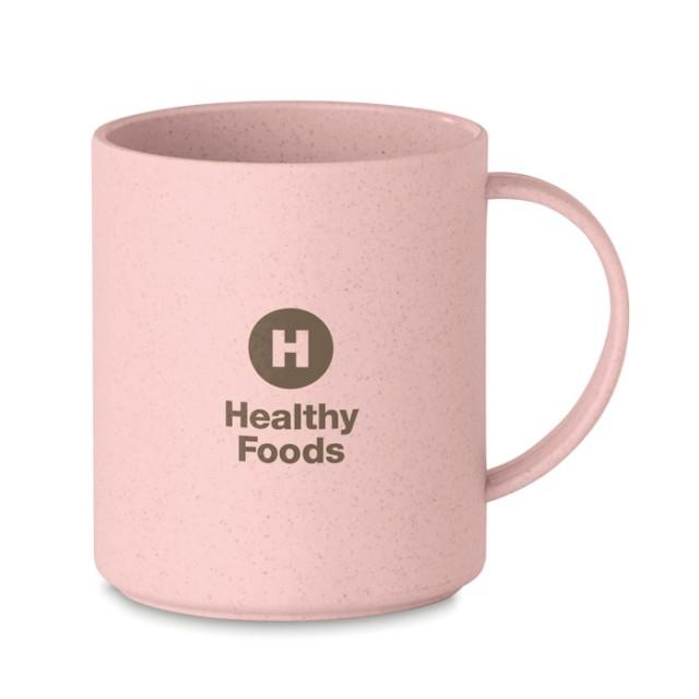 Tazas ecológicas personalizadas rosa