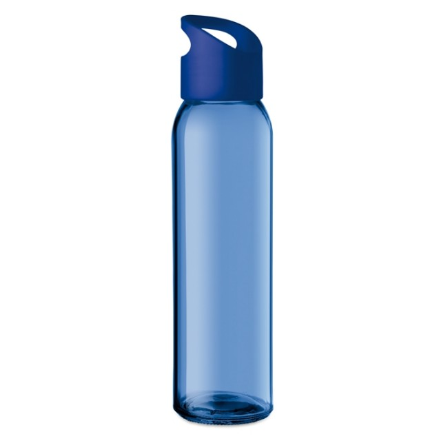 Botellas merchandising azul