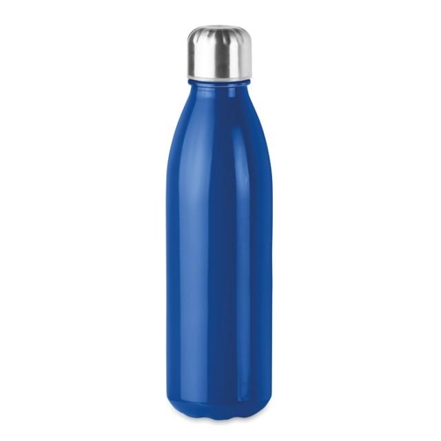 Botellas de cristal azules personalizadas