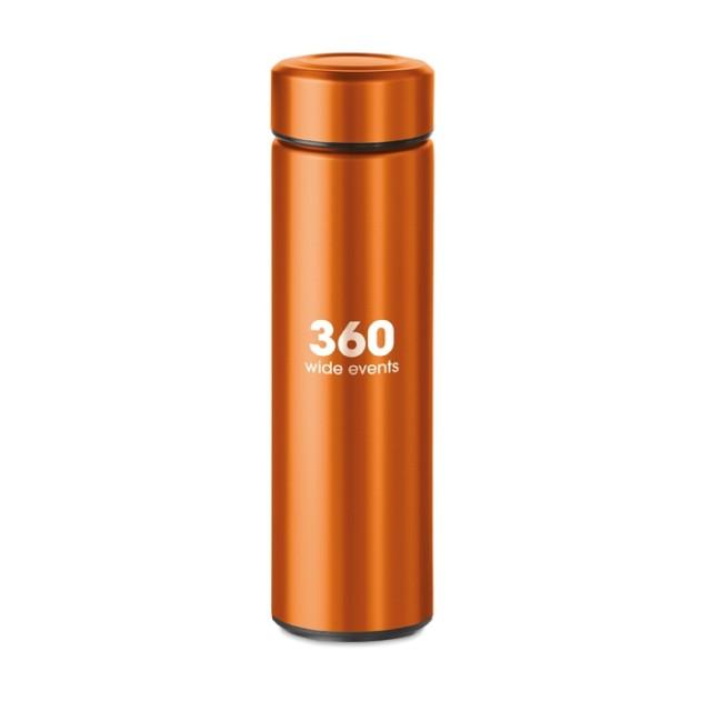 Termos para publicidad color naranja