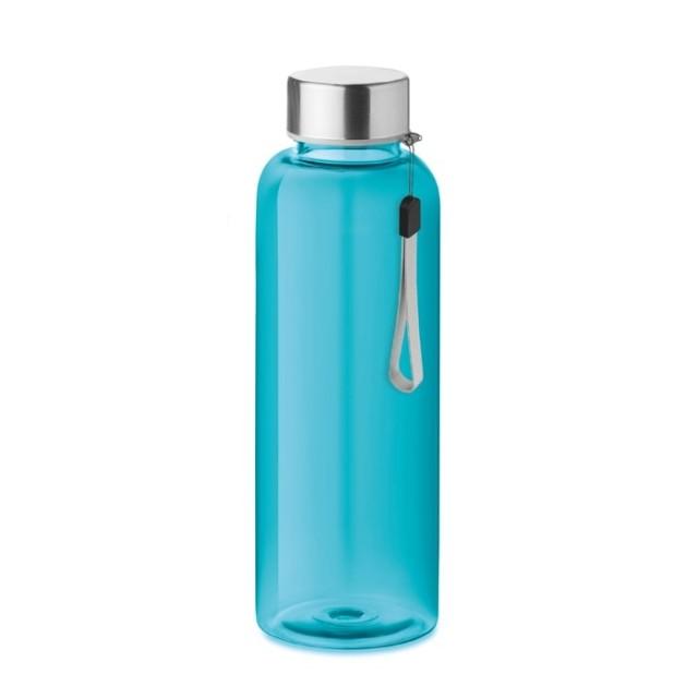 Botellas RPET personalizadas azul