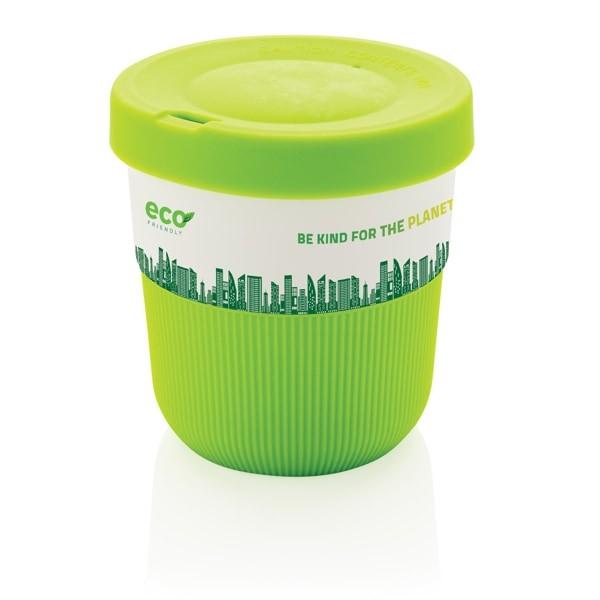Tazas para llevar personalizadas color verde