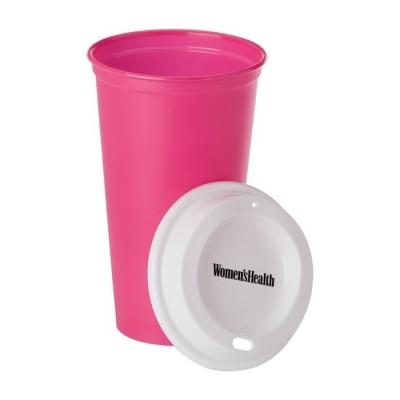 Tazas plásticas personalizadas con tu diseño (520ml)