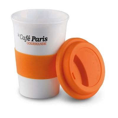 Taza Take Away personalizable con tu logo (400ml)