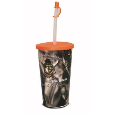 Vasos de plastico personalizados con magia (500ml)