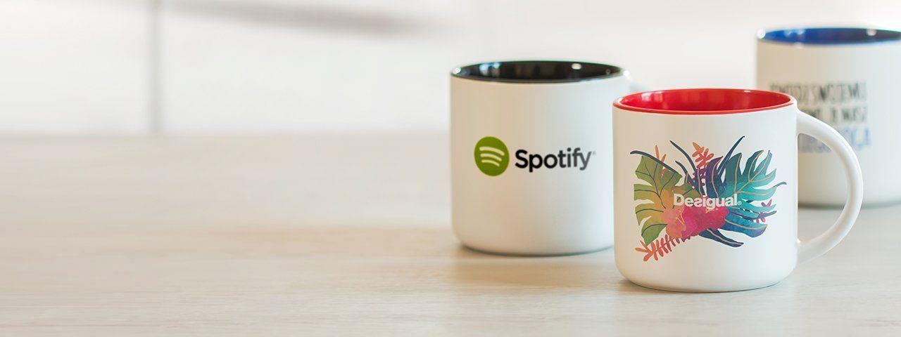 Tazas personalizadas con logo para empresas y publicidad