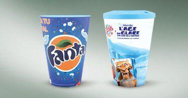 Vasos personalizados para publicidad