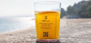 vasos personalizados para regalar a bares y restaurantes